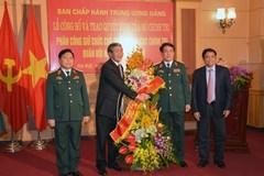 Thượng tướng Lương Cường làm Chủ nhiệm Tổng cục Chính trị