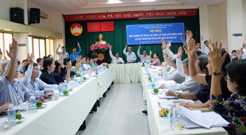 Ông Hoàng Hữu Phước, Đặng Thành Tâm không lọt danh sách ứng cử