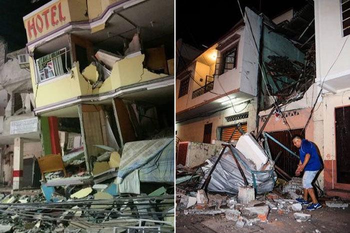 Ecuador, Nhật, động đất, sóng thần, địa chấn, thương vong, tử vong, thiệt hại, tàn phá