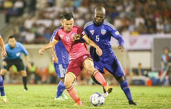 Hòa Quảng Nam, Sài Gòn FC ẵm gần nửa tỷ