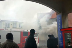 Cháy, nổ lớn ở trung tâm mua sắm Moscow