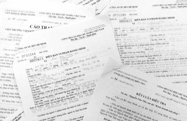 Kinh doanh trái phép, đăng ký kinh doanh, khởi tố hình sự, kinh doanh không phép, Công an Thị trấn Tân Túc, Công an huyện Bình Chánh