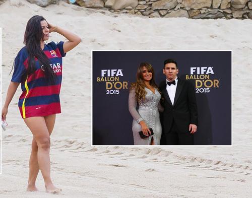 Bồ ghen tuông, Messi phải 'tránh xa' hoa hậu siêu vòng 3
