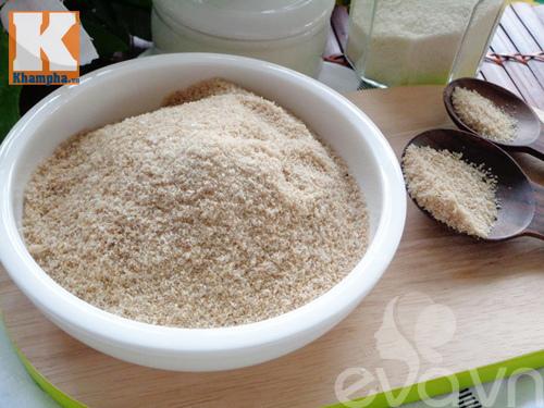 Cách làm, bột nêm từ thịt heo, bột nêm đảm bảo an toàn