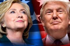 Donald Trump và Hillary Clinton đại thắng