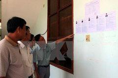 Ứng cử viên có thể gửi chương trình hành động cho cử tri