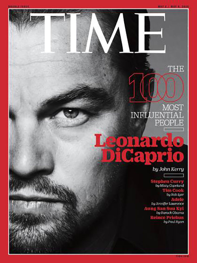 Leonardo DiCaprio lọt top 100 nhân vật ảnh hưởng nhất TG