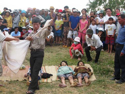 Trần Thị Trương, học sinh, Quảng Ngãi, sông, suối, hồ, ao, đầm lầy, chum vại, chính quyền