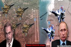Quân đội Nga bị tố bắn chiến đấu cơ Israel