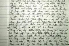 Bộ GD-ĐT nhận đơn thư vụ học sinh bị đuổi học vì tè bậy