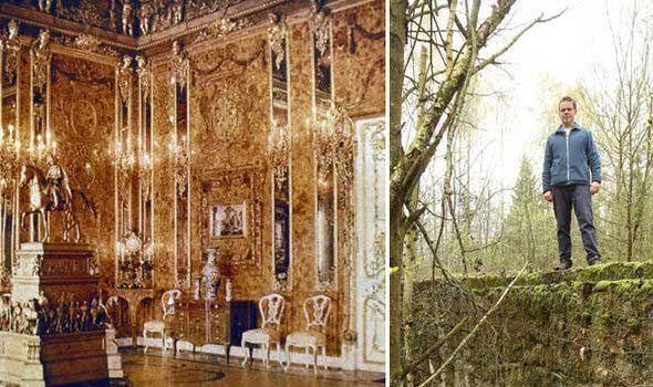 Tìm thấy phòng hổ phách dát vàng mà Hitler chôn giấu