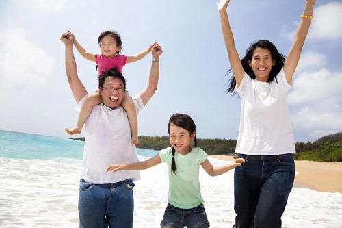 Lên 'ngân sách' sớm cho kỳ nghỉ gia đình