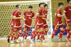 Tuyển futsal Việt Nam hòa Á quân châu Á