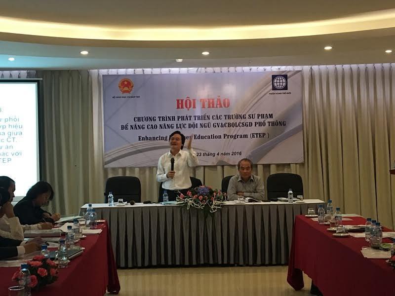 Bộ trưởng Phùng Xuân Nhạ: 'Giáo dục con người không thể nóng vội, chắp vá'