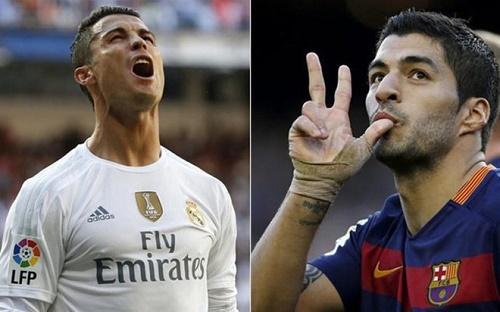 3 ngày ghi 8 bàn, Suarez khiến Ronaldo 'nóng mặt'