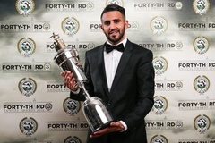 """""""Cáo"""" Riyad Mahrez đoạt Cầu thủ hay nhất năm"""