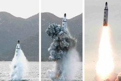 Sự thực sức mạnh tên lửa ngầm của Triều Tiên