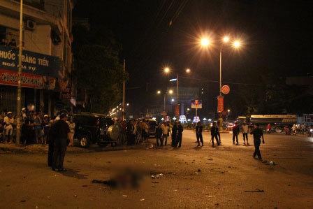 Vụ nổ mìn tự chế: Phó GĐ Công an tỉnh bị thương