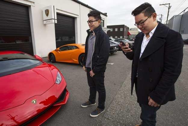 Cuộc sống xa hoa của con nhà giàu TQ ở nước ngoài