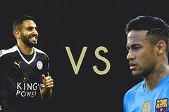Leicester: So sánh với Neymar là hạ thấp Mahrez