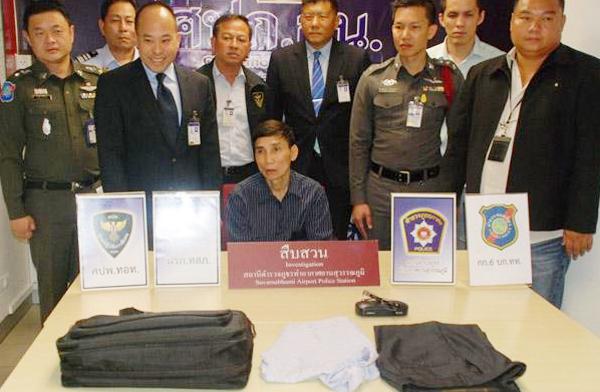 Ăn cắp tại sân bay Thái Lan, một người Việt bị bắt