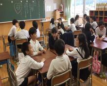 Một lần dự giờ học Đạo đức trong lớp tiểu học ở Nhật