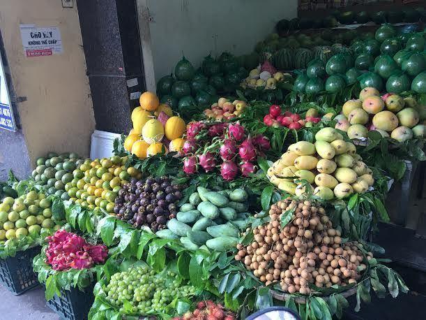 Hoa quả tăng giá gấp đôi, Hà Nội khan hàng