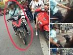 Hai cô gái khiếp sợ vì thanh niên biến thái trên đường