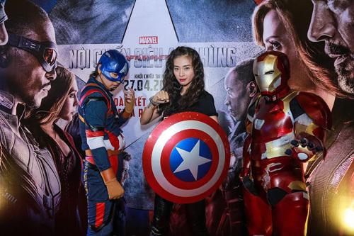 Captain America, phim Captain America, noi chien sieu anh hung