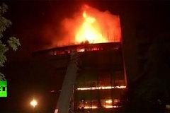 Bảo tàng giữa thủ đô Ấn Độ cháy ngùn ngụt