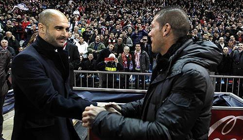 Simeone chú ý: Cứ thắng Pep Guardiola là vô địch