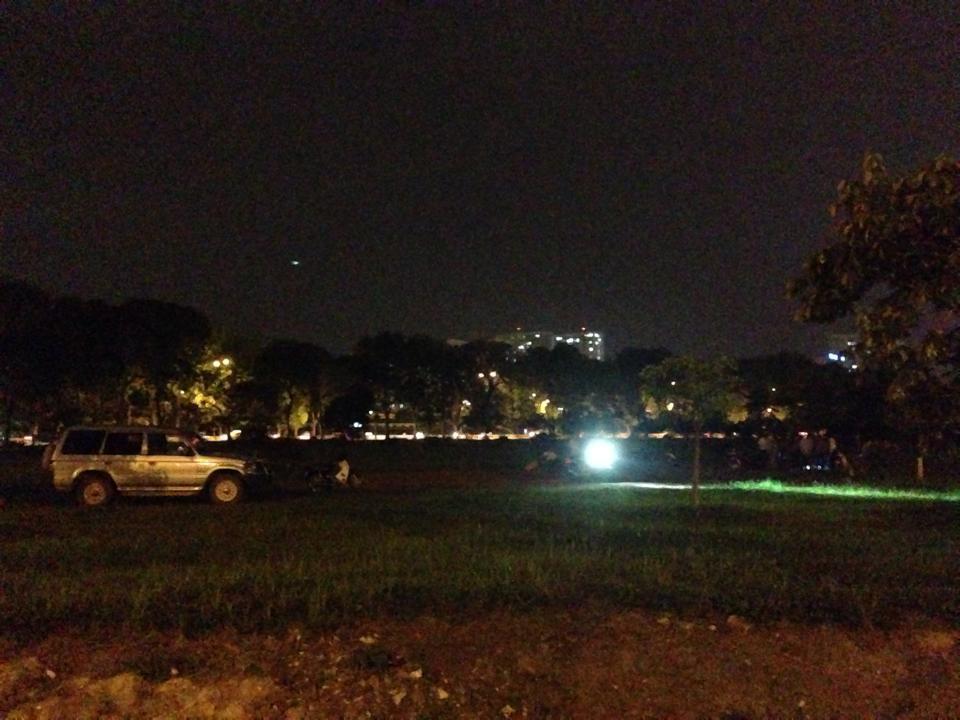 Phát hiện người đàn ông chết cháy gần công viên Hòa Bình