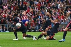 Atletico 1-0 Bayern: Hùm xám ôm hận bởi siêu phẩm