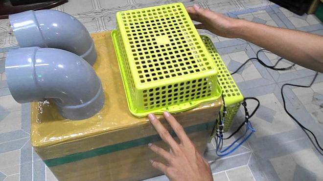 quạt lạnh tự chế, máy điều hòa, điều hòa tự chế, nguy cơ gây bệnh, vi khuẩn gây bệnh
