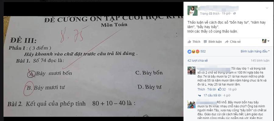 bài toán lớp 1