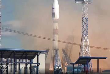Xem tên lửa Nga 'cất cánh' từ sân bay vũ trụ mới