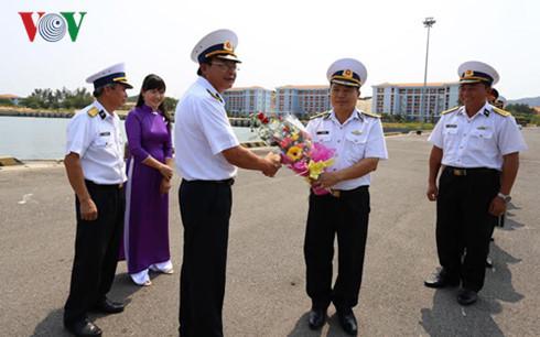 Tàu hải quân VN tham gia diễn tập quốc tế