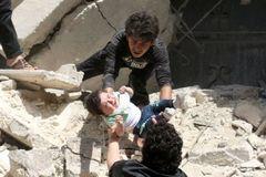 Bệnh viện ở Syria bị không kích, 27 người chết