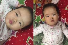 Xót xa cháu bé 6 tháng tuổi bị bỏ rơi ở cửa hàng quần áo