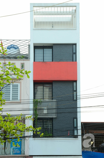 Thiết kế nhà 60m2 yên bình giữa phố phường Hà Nội