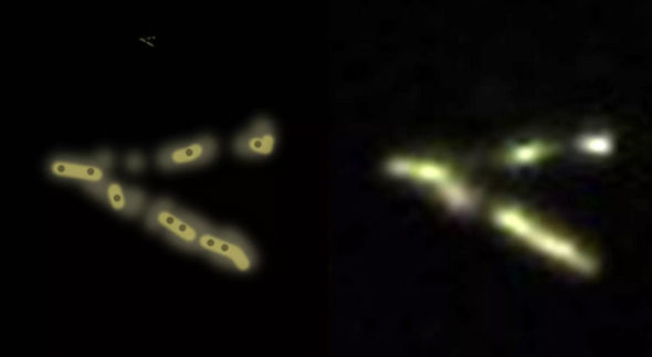đĩa bay, UFO, Mỹ