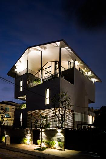 nhà đẹp Sài Gòn, nhà nổi, nhà 400m2 ở Sài Gòn