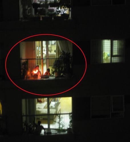 Độc và lạ: Những hình ảnh chỉ có ở chung cư Hà Nội
