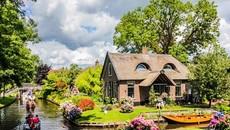 Những ngôi nhà xinh đẹp như chốn thiên đường ở Hà Lan