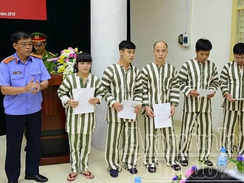 101 phạm nhân tại Hà Nội được tha tù trước thời hạn