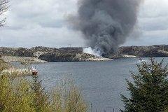 Trực thăng chở 13 người rơi ở Na Uy