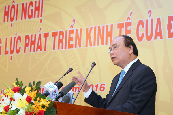Thủ tướng Nguyễn Xuân Phúc, hội nghị gặp gỡ doanh nghiệp, doanh nghiệp Việt Nam, VCCI, cộng đồng doanh nghiệp