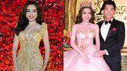 Elly Trần lần đầu tiên làm vedette diễn catwalk bên Trương Nam Thành