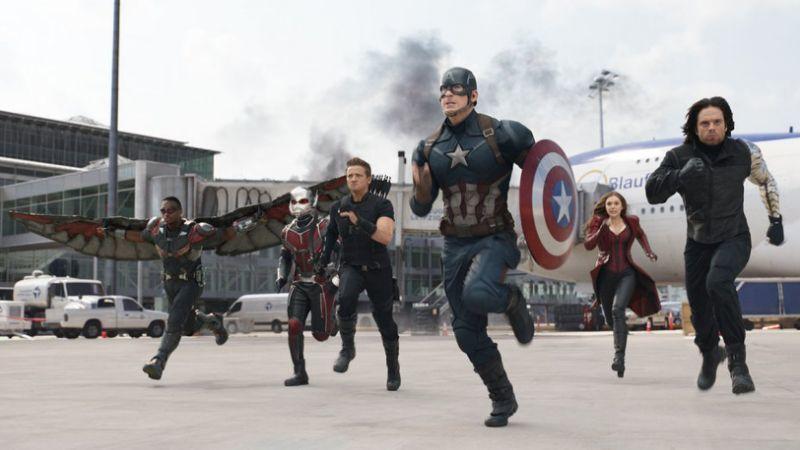 'Captain America' không có đối thủ ngoài phòng vé