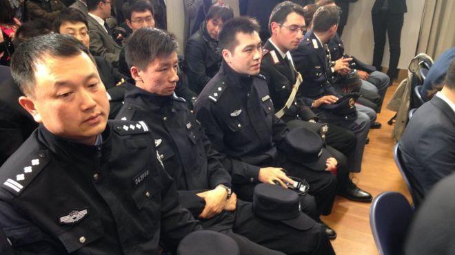 Cảnh sát Trung Quốc tuần tra trên đất Ý